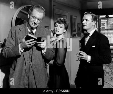 MICHAEL REDGRAVE, JEAN KENT, NIGEL PATRICK, THE BROWNING VERSION, 1951 - Stock Photo