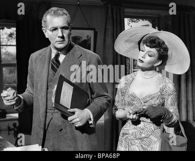 MICHAEL REDGRAVE, JEAN KENT, THE BROWNING VERSION, 1951 - Stock Photo