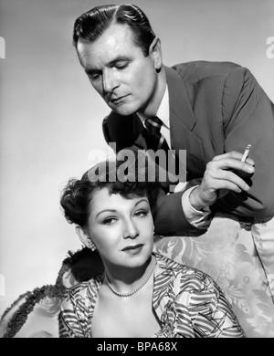 JEAN KENT, NIGEL PATRICK, THE BROWNING VERSION, 1951 - Stock Photo