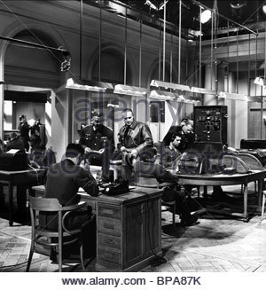 WEHRMACHT HEADQUARTERS THE LONGEST DAY (1962) - Stock Photo