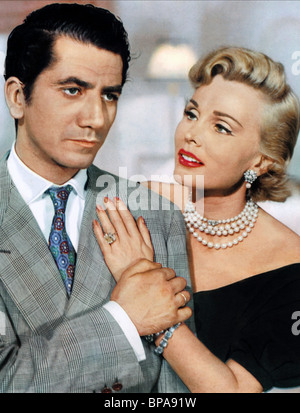 DANIEL GELIN, ZSA ZSA GABOR, BEAUTY AND THE BULLFIGHTER, 1953 - Stock Photo