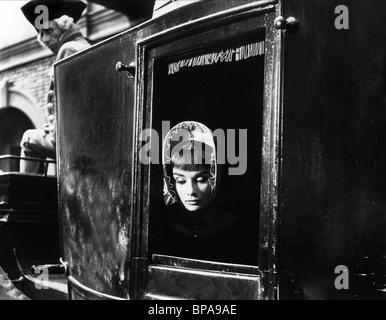 AUDREY HEPBURN WAR AND PEACE (1956) - Stock Photo