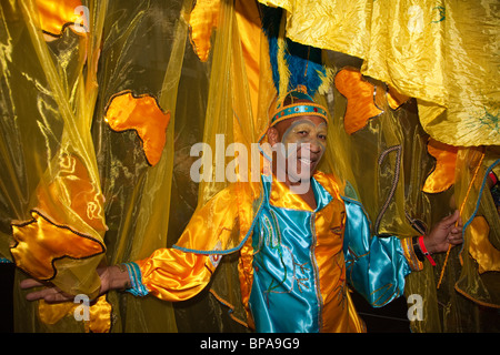 Notting Hill Carnival 2010, Grand Carnival Costume Splash, costume competitions, Alexandra Palace - Stock Photo
