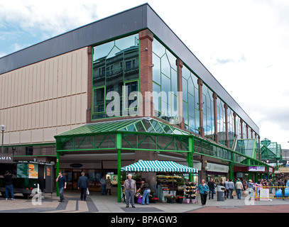 the st.johns shopping center in liverpool, uk - Stock Photo