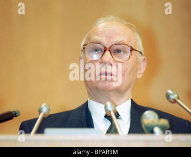 Former KGB chairman Vladimir Kryuchkov - Stock Photo