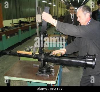 At the Degtyaryov Plant in Kovrov - Stock Photo