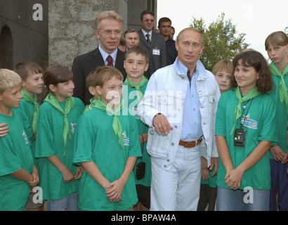 Russian President Vladimir Putin has started his working trip to the Black Sea coast . - Stock Photo