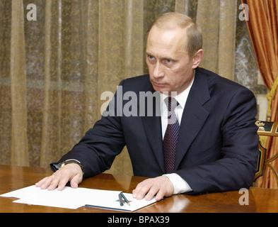 Putin met with Duma leaders - Stock Photo