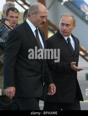 President of Russia in Minsk - Stock Photo