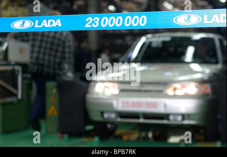 AvtoVAZ releases its 23 millionth car since the beginning of production - Stock Photo