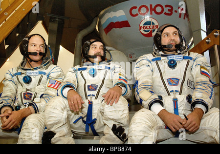 ISS 12th expedition crew's training in Star City - Stock Photo