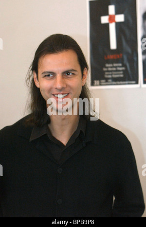 Winner of Golden Mask & Personality of Year Awards, conductor of Novosibirsk Theatre of opera & ballet Teodor Kurentzis - Stock Photo