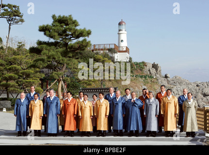 APEC Summit ends in Busan - Stock Photo