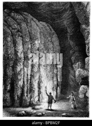 Mammoth cave in Kentucky - Stock Photo