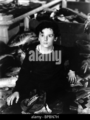 FREDDIE BARTHOLOMEW CAPTAINS COURAGEOUS (1937) - Stock Photo