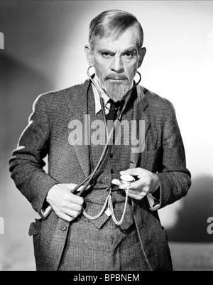 BORIS KARLOFF THE MAN WITH NINE LIVES (1940) - Stock Photo