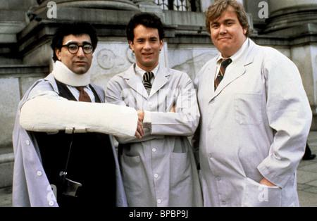 EUGENE LEVY TOM HANKS & JOHN CANDY SPLASH (1984) - Stock Photo