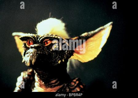 STRIPE GREMLIN from the film GREMLINS (1984) - Stock Photo