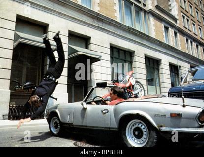 MOTOCYCLE CRASH POLICE ACADEMY (1984) - Stock Photo