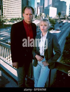 FRED DRYER, DARLANNE FLUEGEL, HUNTER: SEASON 1, 1984 - Stock Photo