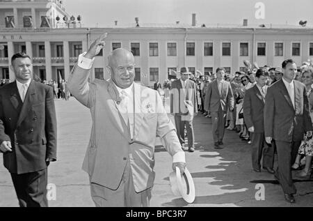 First Secretary of Central Committee of CPSU Nikita Khrushchev, 1959 - Stock Photo