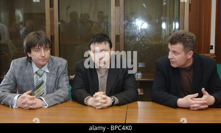 Defendants acquitted on charges of Paul Khlebnikov's murder - Stock Photo