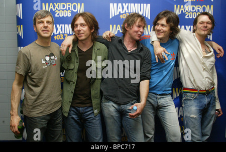 11th Russian rock festival 'Maxidrom' in Moscow - Stock Photo