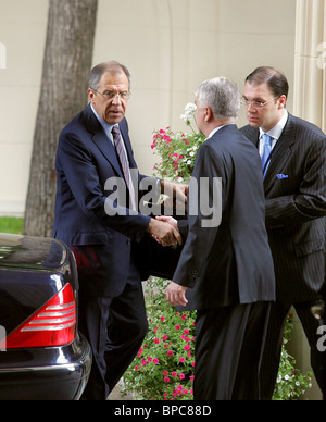 G8 Foreign Ministers meet in Moscow - Stock Photo