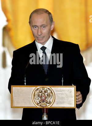 Russian President holds series of meetings July 20, 2006 - Stock Photo