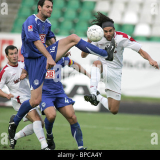 UEFA Intertoto Cup game: Moskva Moscow vs. Hertha BSC Berlin 0-2 - Stock Photo