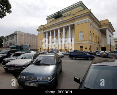 Newly-renovated Alexandrinsky Theater ready for 250th anniversary season - Stock Photo