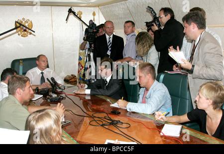 Russian President Vladimir Putin visits Kingdom of Morocco - Stock Photo