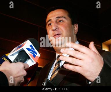 South Ossetia holds independence referendum - Stock Photo