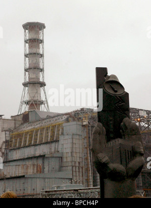 Nuclear fuel removed from Chernobyl Nuclear Power Plant reactor #1 - Stock Photo