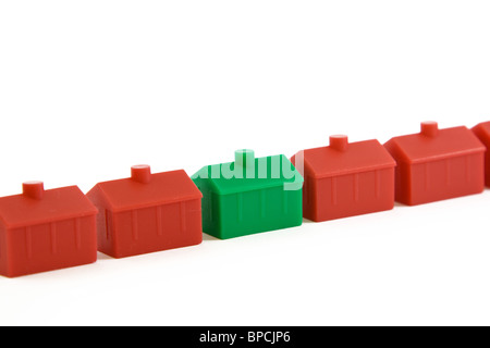 Model houses - Stock Photo