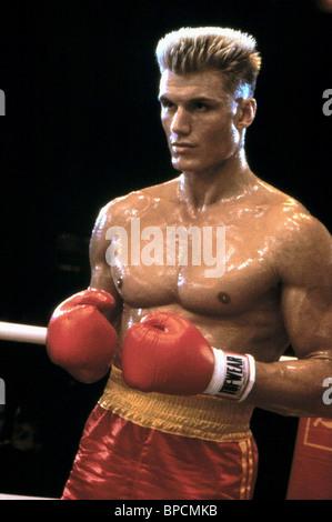 DOLPH LUNDGREN ROCKY IV (1985) - Stock Photo