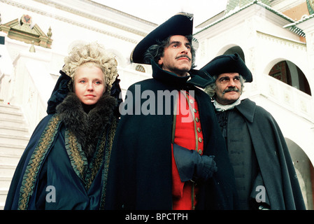 MAXIMILIAN SCHELL OMAR SHARIF & HANNA SCHYGULLA PETER THE GREAT (1986) - Stock Photo