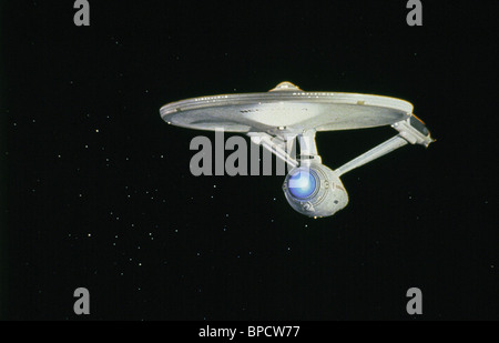 THE U.S.S. THE ENTRPRISE-A STAR TREK IV: THE VOYAGE HOME (1986) - Stock Photo