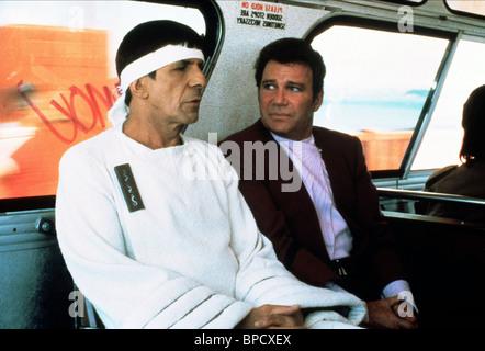 LEONARD NIMOY, WILLIAM SHATNER, STAR TREK IV: THE VOYAGE HOME, 1986 - Stock Photo