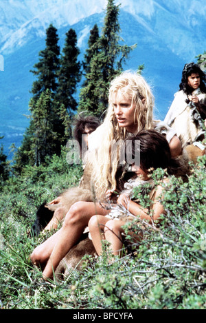 Daryl Hannah The Clan Of The Cave Bear 1986 Stock Photo