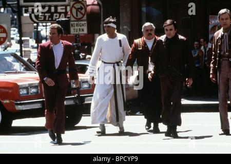 WILLIAM SHATNER, LEONARD NIMOY, JAMES DOOHAN, WALTER KOENIG, DEFOREST KELLEY, STAR TREK IV: THE VOYAGE HOME, 1986 - Stock Photo