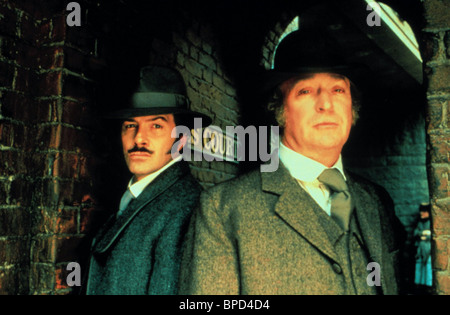 LEWIS COLLINS, MICHAEL CAINE, JACK THE RIPPER, 1988 - Stock Photo