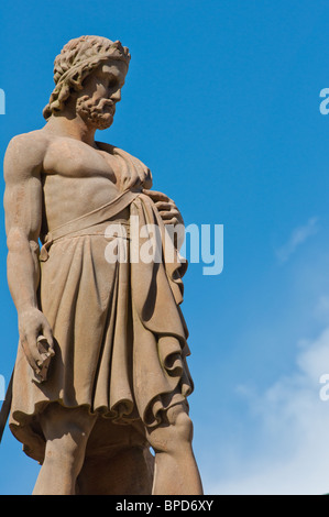 William Wallace statue in Stirling Scotland - Stock Photo