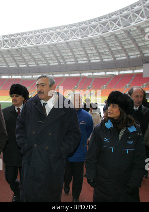 IAAF Evaluation Commission visits Moscow - Stock Photo