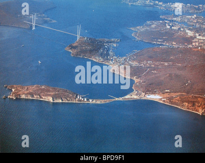 Plans for new public facilities on Russky Island off Vladivostok for 2012 APEC summit - Stock Photo
