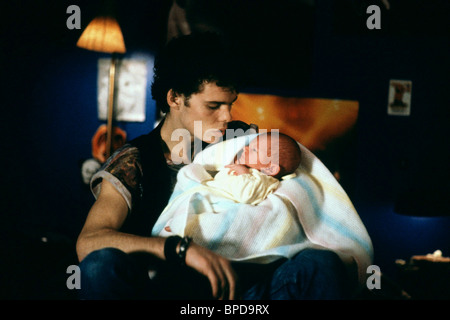 KEVIN DILLON & BABY IMMEDIATE FAMILY (1989) - Stock Photo