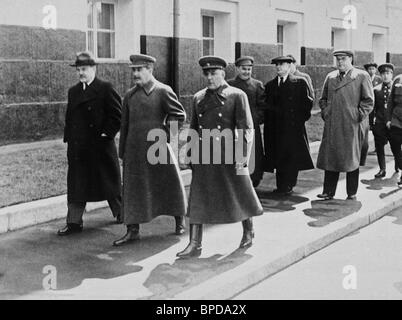 Stalin, Molotov, and Voroshilov, shortly bebore German invasion of USSR - Stock Photo