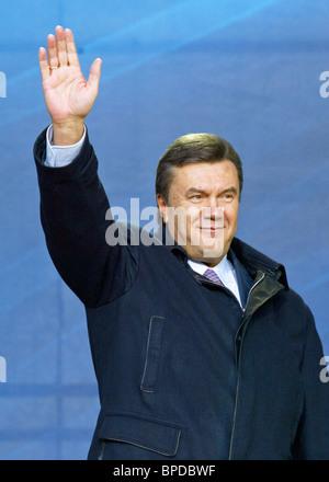 Rallies continue in Ukraine - Stock Photo