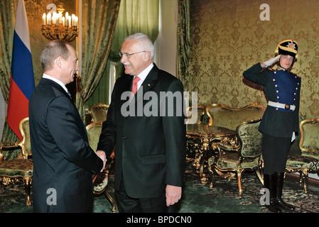 President Putin holds series of meetings April 27, 2007 - Stock Photo