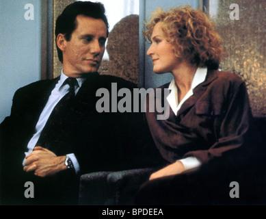 JAMES WOODS & GLENN CLOSE IMMEDIATE FAMILY (1989) - Stock Photo